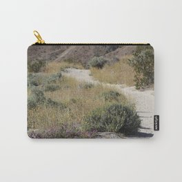 Pathway Through The Brittle Bush Coachella Valley Wildlife Preserve Carry-All Pouch