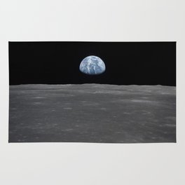 see the marble from the moon | space #05 Rug