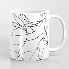 Botanical Black Coffee Mug
