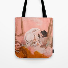 The Picnic (a Manet study) Tote Bag