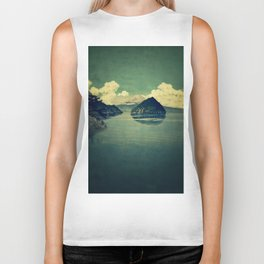 Distant Blues Biker Tank