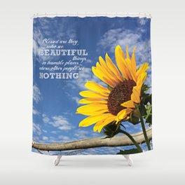 Summer Sunshine Shower Curtain