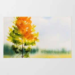Autumn scenery #22 Rug