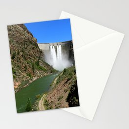 Morrow Point Dam Stationery Cards