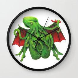 Cum Of Cthulhu Wall Clock