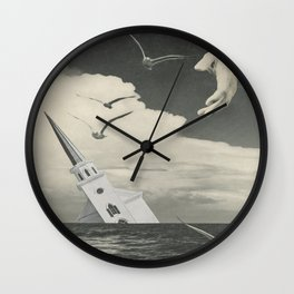 Only God Can Save Us Wall Clock