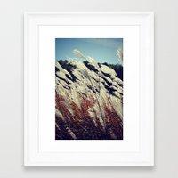 transparent Framed Art Prints featuring Transparent by KunstFabrik_StaticMovement Manu Jobst