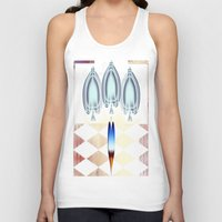 ace Tank Tops featuring Ace by Anivad