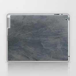 Slate Gray Stucco - Faux Finishes - Rustic Glam - Venetian Plaster Laptop & iPad Skin