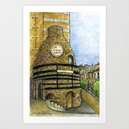 Fulham Pottery SW6 Art Print