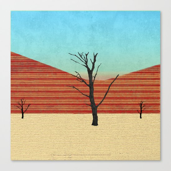 The Desert View Canvas Print