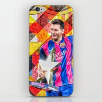 messi iPhone & iPod Skins featuring Messi by Cr7izbest