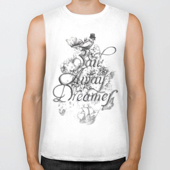 Sail Away Dreamer Biker Tank