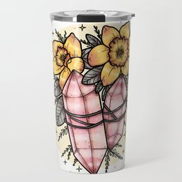 daffodils & crystals Travel Mug