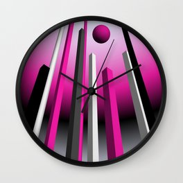 go pink -18- Wall Clock