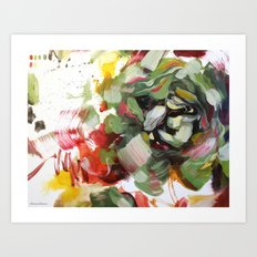 flower arrangement 5 Art Print