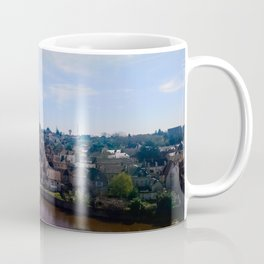 View of a french village Coffee Mug