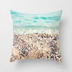 al sol Throw Pillow