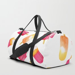 watercolor popsicle pattern Duffle Bag