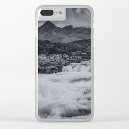 One Day in the Mountains II Clear iPhone Case