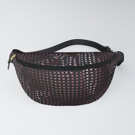 Rose in Plaid Fanny Pack