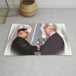 Trump Kim Summit Rug