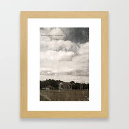 Boorowa Show Ground Framed Art Print
