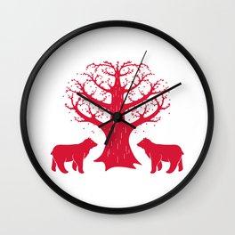 Love Bears Wall Clock