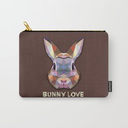 Bunny Love Carry-All Pouch