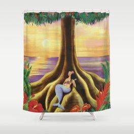 Hawai Sunset Shower Curtain