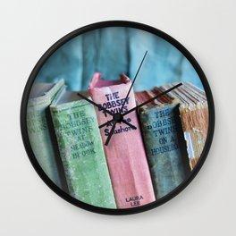 The Bobbsey Twins Wall Clock