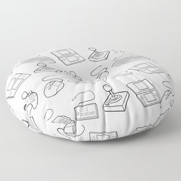 Get Your Game On Floor Pillow