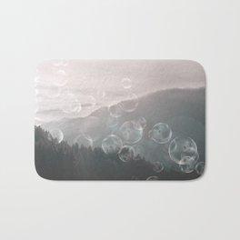 Dreamy Outdoor Mountain Landscape Bath Mat