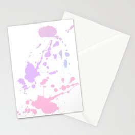 Paint Daubs (1) Stationery Cards