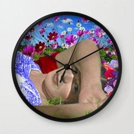 FRIDA KAHLO TURQUESA Wall Clock