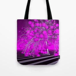 the pink tree Tote Bag
