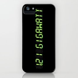 1.21 Gigawatt - Back to the future iPhone Case
