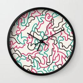Fantasy pattern. Colour #1. Wall Clock