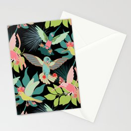 Hummingbird Paradise Stationery Cards
