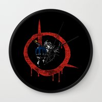 vendetta Wall Clocks featuring Link for vendetta by unknowndesigner