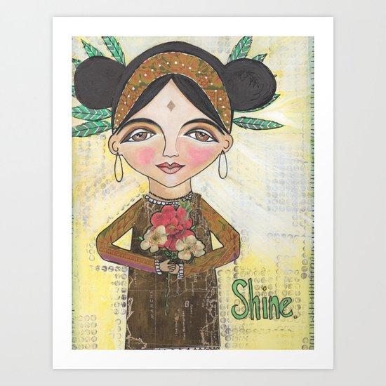 Shine Art Print