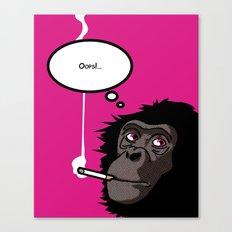 Pop Icon - Bonobo 2 Canvas Print