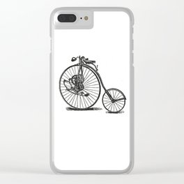 Old bicycle Clear iPhone Case