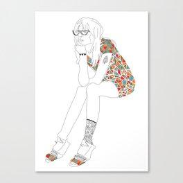 Josie Canvas Print