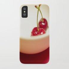 Cherry Heaven Slim Case iPhone X