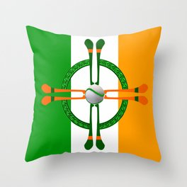 Hurley and Ball Celtic Cross Design Throw Pillow