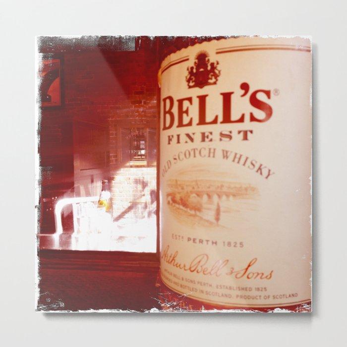 Whisky in Gastown Metal Print