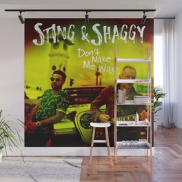 Sting & Shaggy Wall Mural