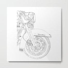 cycle 2 Metal Print