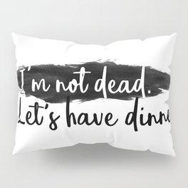 Dinner Invitation Pillow Sham